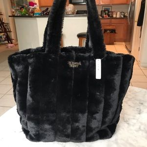 Victoria's Secret Bags - Victoria secret fur tote